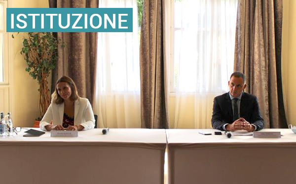 Présentation de la mission confiée par le Président du Conseil exécutif de Corse à Mme Wanda Mastor, agrégée de droit public, Professeure des Universités