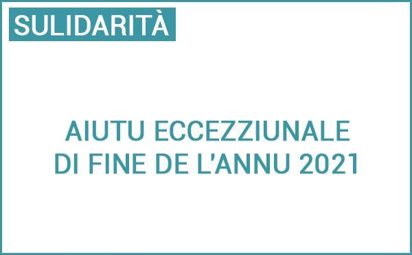 Aide exceptionnelle de fin d'année 2021 destinée aux personnes en situation de précarité