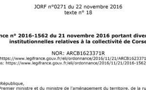 A Cullettività di Corsica cumu hè nata ? A Lege NOTRe è l'urdinanze