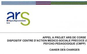 Chjama à prughjettu - CMPP Miziornu suttanu - Appel à projet relatif à la création d'un Centre médical psycho-pédagogique dans l'Extrême Sud
