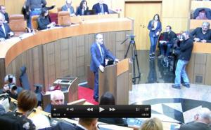 Discorsu di Jean-Guy Talamoni, Presidente di l'Assemblea di Corsica