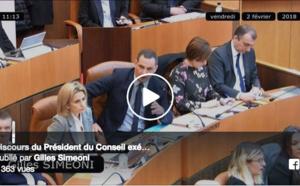 Discorsu di Gilles Simeoni, Presidente di u Cunsigliu esecutivu di Corsica