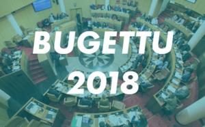 Le premier budget primitif de la Collectivité de Corse présenté par le Président du Conseil exécutif et  adopté par l'Assemblée de Corse