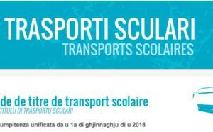 Transport scolaire : la demande de carte pour l'année scolaire 2018-2019 est disponible en téléchargement
