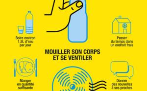 Alerte canicule : les services de la Collectivité de Corse mobilisés