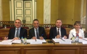 Signature de la convention cadre entre la Collectivité de Corse et Business France