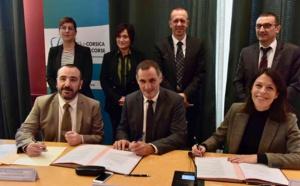 Signature du compromis de vente de l'ancien dispensaire de Corti