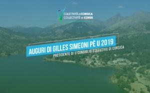 La Collectivité de Corse vous présente ses meilleurs vœux pour 2019