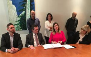 Signature de la convention entre la Collectivité de Corse et le FIPHFP