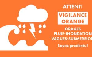 Vigilance orange - Changement d'horaire des transports scolaires