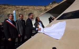 Inauguration de la déviation de Prupià et du tunnel de Vighjaneddu