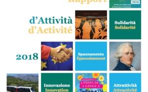 Rapport d'activité 2018 de la Collectivité de Corse