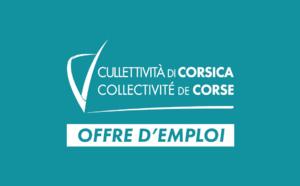 La Collectivité de Corse recrute un(e) Responsable développement et suivi des structures immersives à Bastia
