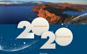 Envoyer vos vœux 2020 aux couleurs de la Corse