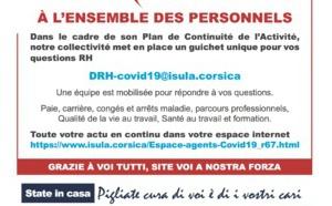 Plan de continuité d'activité (PCA) du pôle des ressources humaines : retrouvez toutes les mesures mises en place