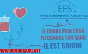 Message de l'établissement français du sang