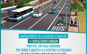 Info Routes CdC - Travaux de requalification de la rocade d'Aiacciu : travaux nocturnes boulevard Costa