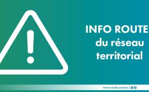 Réseau routier de la Collectivité de Corse RT 11- avis de coupure de la circulation dans le tunnel de Bastia