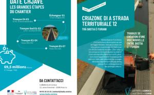 Criazione di a strada territuriale 12 - Trà Bastia è Furiani