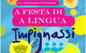 Prugramma di a Festa di a Lingua 2020 - Da u 26 di sittembre à l'8 di dicembre di u 2020