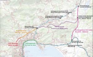 Prisintazioni di l'opari stradali di a Cullittività di Corsica nantu à u ritali di u rughjonu aiaccinu