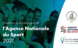 Ouverture de la campagne de L'Agence Nationale du Sport (ex CNDS) 2021