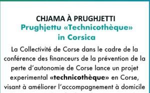 Chjama à prughjetti : Prughjettu «Technicothèque» in Corsica