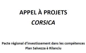 APPEL A PROJETS Pacte Régional d'Investissement dans les Compétences PRIC Corse - Plan Salvezza è Rilanciu