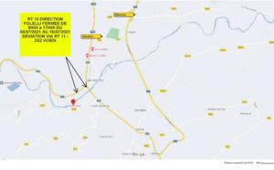 RT10 : Pont de Casamozza - La Collectivité de Corse informe les usagers sur les horaires de fermeture liés aux travaux de sécurisation