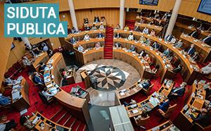 Sessione strasurdinaria di l'Assemblea di Corsica di u 30 settembre è Vennari u 1mu d'uttobre 2021