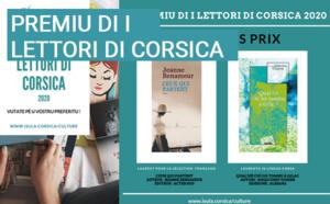 """La Collectivité de Corse honore """"U premiu di i lettori di Corsica 2020"""""""
