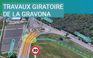 Infrastructures routières du Grand Aiacciu : RT 40 – Travaux de dénivellation du giratoire de la Gravona