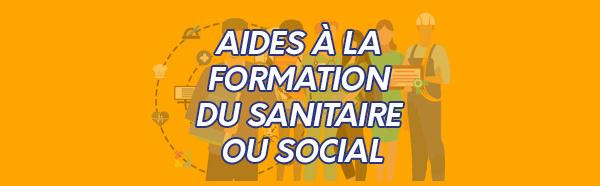 Aides à la formation du sanitaire ou social