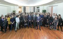 Visita di a 39sima  prumuzione « 39/19 » di l'Institutu Righjunale d'Amministrazione di Bastia