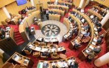 Session extraordinaire de l'Assemblée de Corse des 9 et 10 janvier 2020