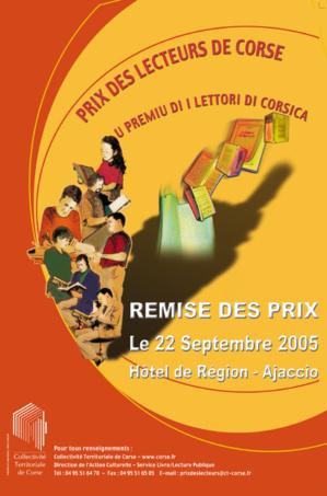 Le Prix des Lecteurs de Corse 2005
