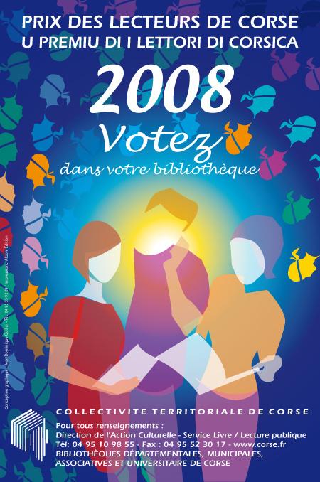 Le prix des lecteurs de Corse 2008
