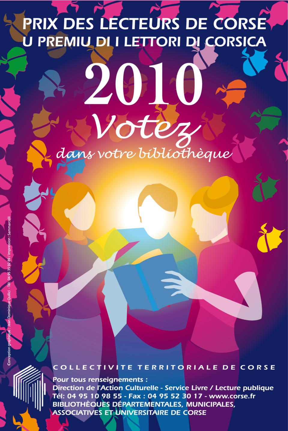 Le prix des lecteurs de Corse 2010