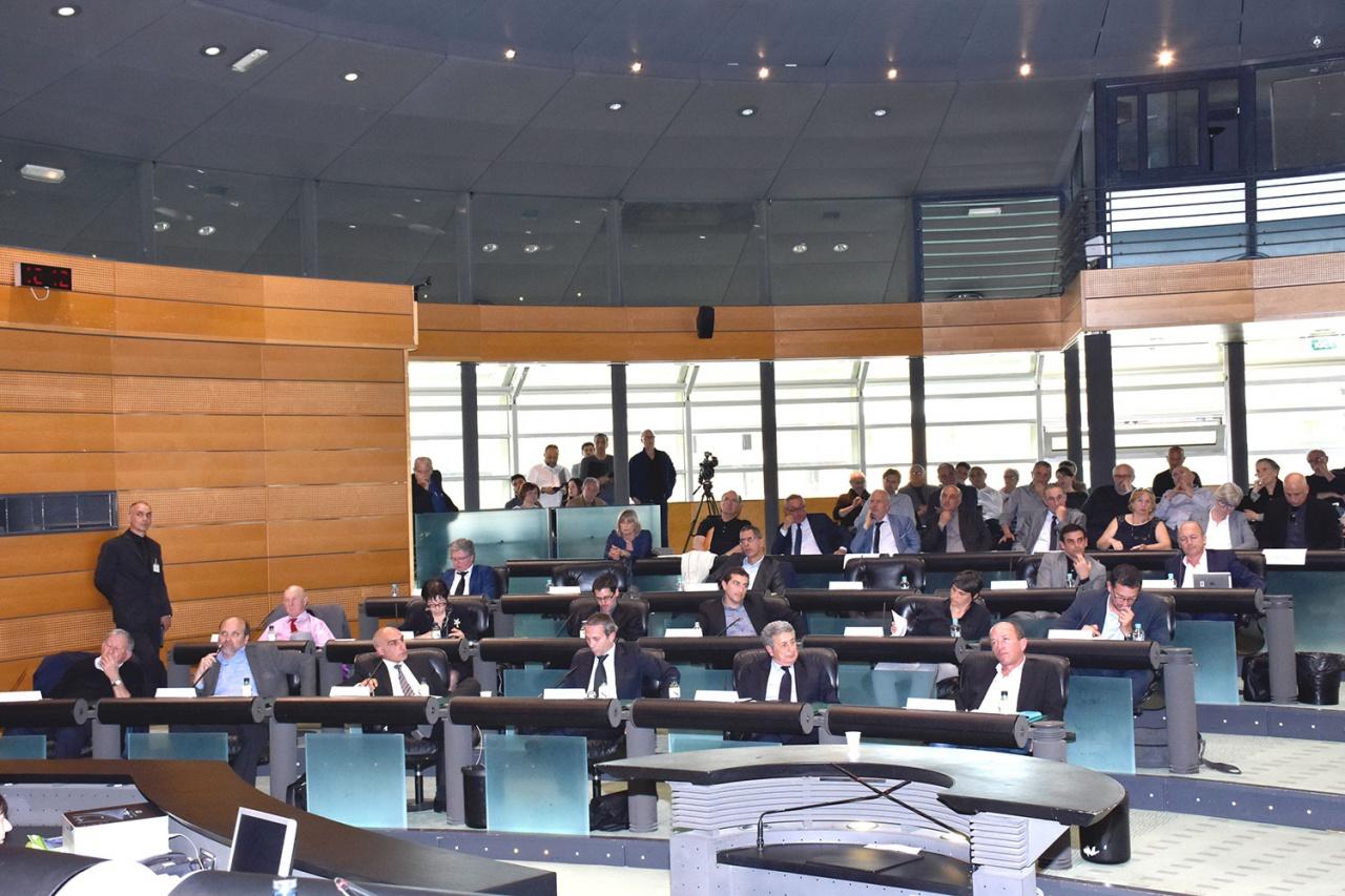 Session de la Chambre des Territoires le 9 juillet 2018 à Bastia