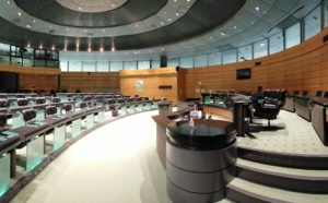 Session de la Chambre des Territoires de Corse 12 avril 2021
